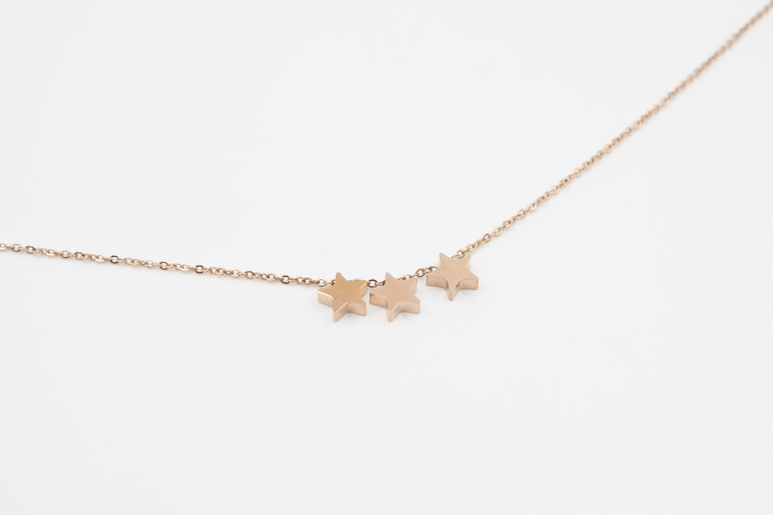 Triple Stars Necklace