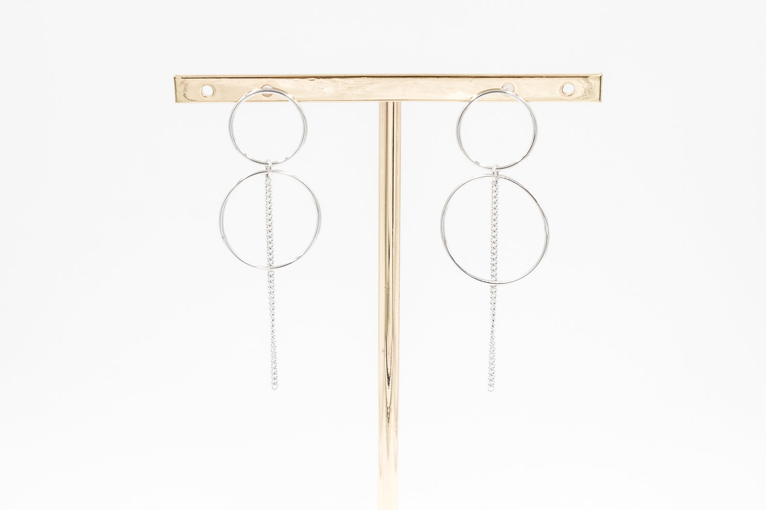 Double Bond Earrings