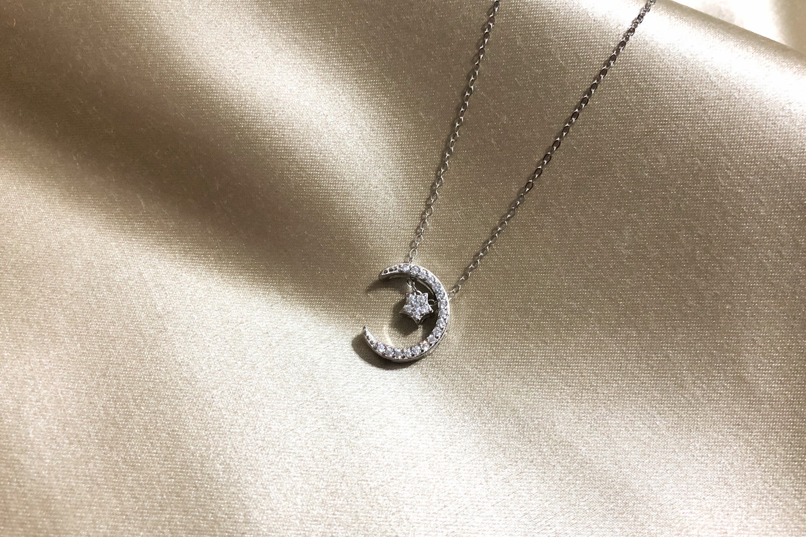 Star & Moon Necklace II