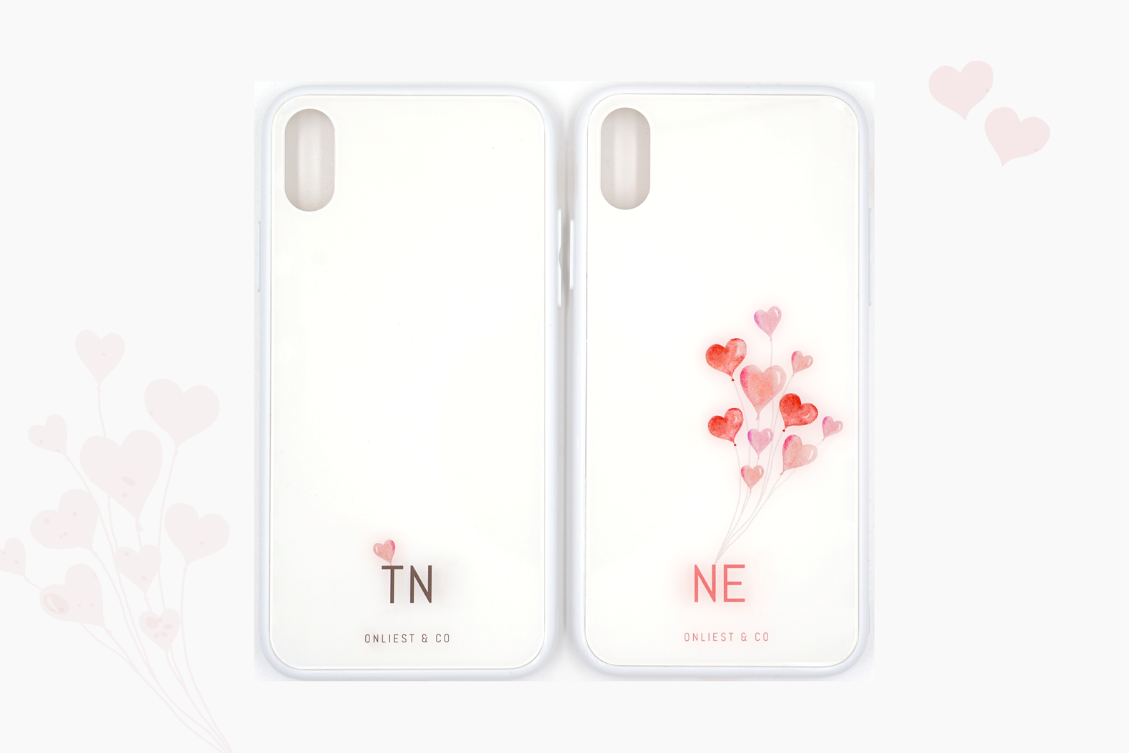 My Valentine Phone Case Set - iPhone