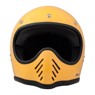 DMD SEVENTY FIVE FULLFACE HELMET; YELLOW (ECE)