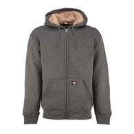 DICKIES SHERPA LINED FLEECE DARK HEATHER