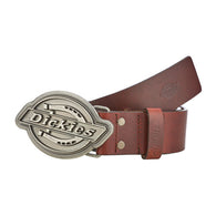 DICKIES EVERETT LEATHER BELT MAHOGANY