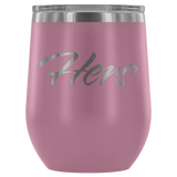 Vacuum Insulated Stemless Wine Tumblers - Hers - Simone's Nook