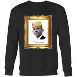 Barack Obama with Crown Unisex T-Shirt - Black Excellence Series - Simone's Nook