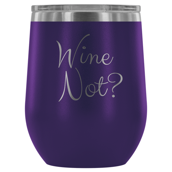 Vacuum Insulated Stemless Wine Tumblers - Wine Not? - Simone's Nook