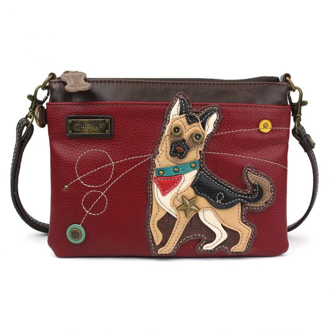 Chala Mini Crossbody/Purse, German Shepherd
