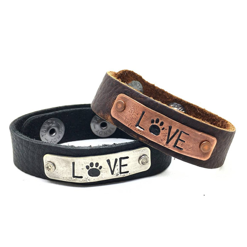 Bracelet, Love with Paw Print