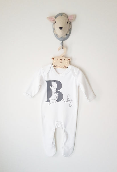 B is for Baby - Unisex - Peter Rabbit - all in one - loungewear