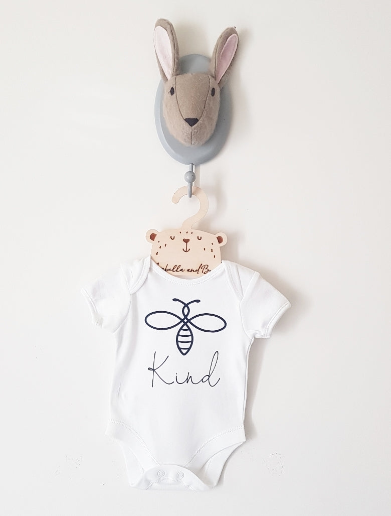Bee Kind bodysuit , long or short sleeved