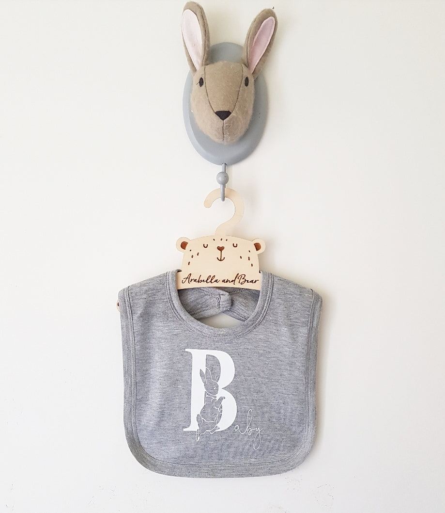 Peter Rabbit B is for Baby bib