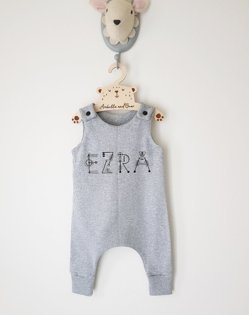 Customised Sacred Name romper