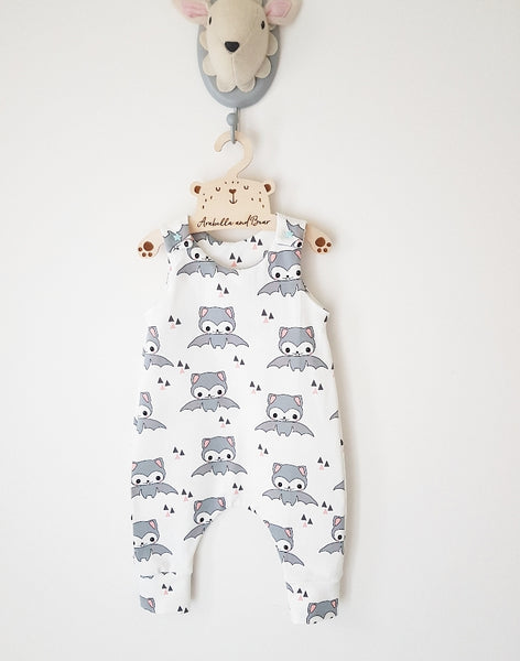 Organic Happy Bat Romper