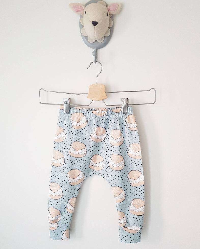 Little pudding slim fit harems