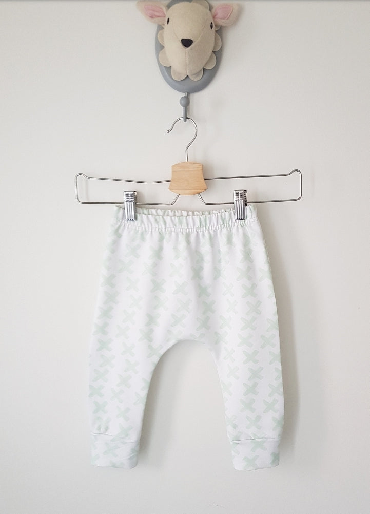 Mamas minty kisses slim fit harems