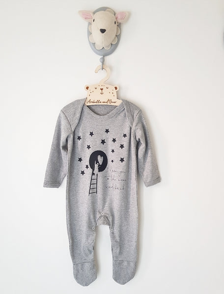 I love you to the moon and back all in one loungewear