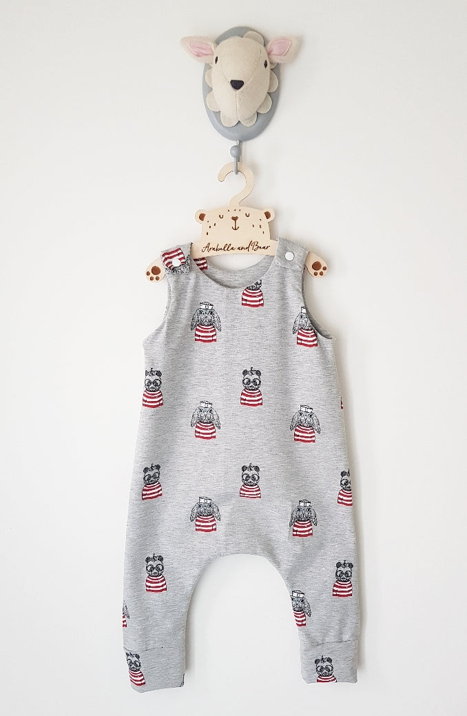Freddie and friends long or short romper
