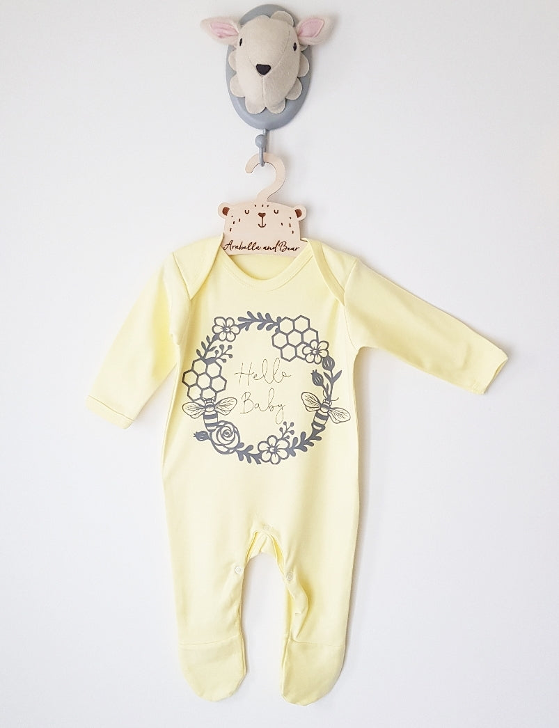 Hello Baby all in one - loungewear