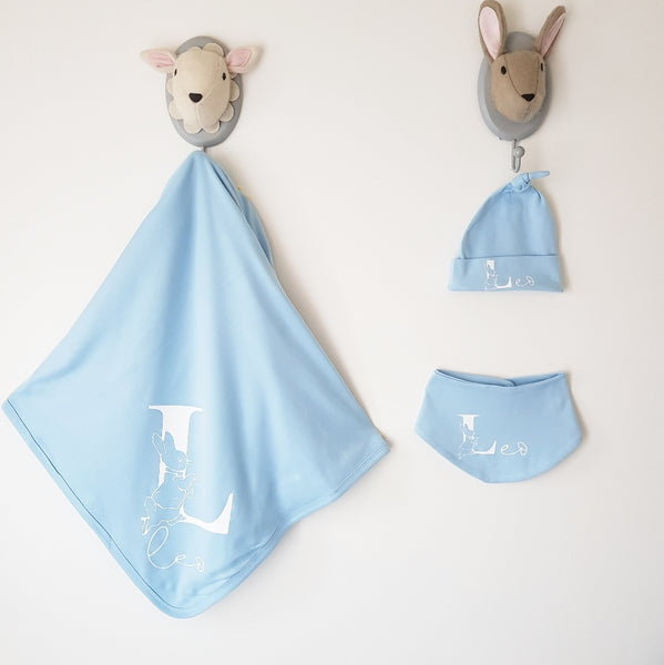 Pink - Blue - White - New Baby - Peter Rabbit gift set