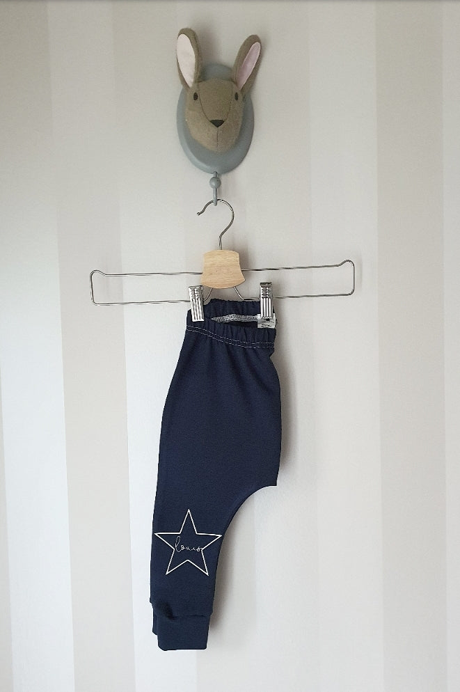 Personalised Star leggings- various colours