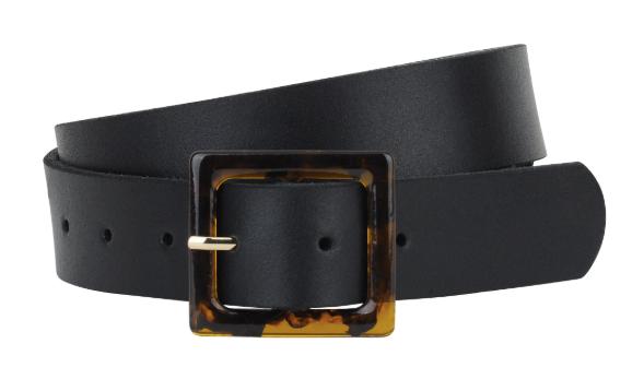 Square Resin Buckle Belt