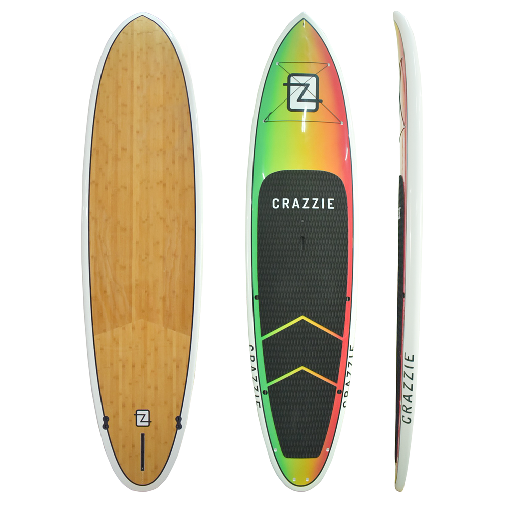 Crazzie Eddy Rasta Color with Bamboo Bottom
