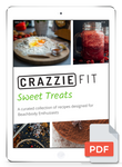 CrazzieFit Sweet Treats Recipe eBook
