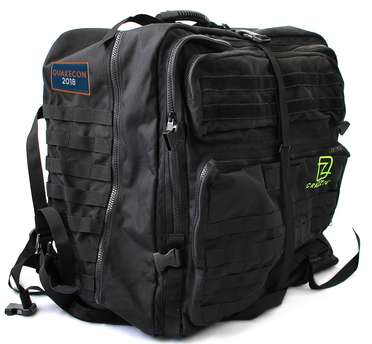 Quakecon 2018 Exclusive GTR Backpack (Only 250 Available) FREE SHIPPING
