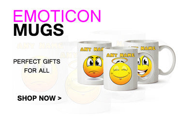 EMOTICON MUGS