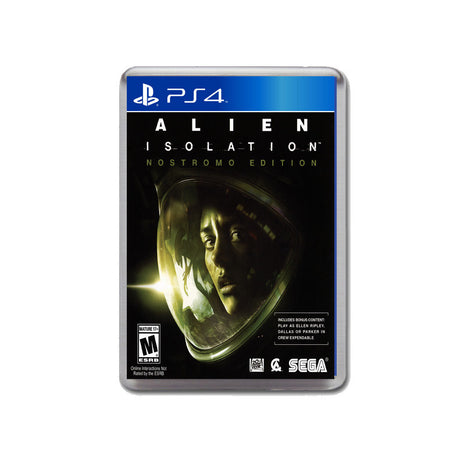Alien Isolation Ps4 Game Inspired Retro Gaming Magnet