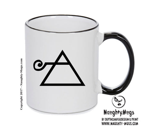 Air Black Handle Alchemy Mug GOTHIC GOTH HORROR STARS HORROSCOPE BLACK MAGIC MUG