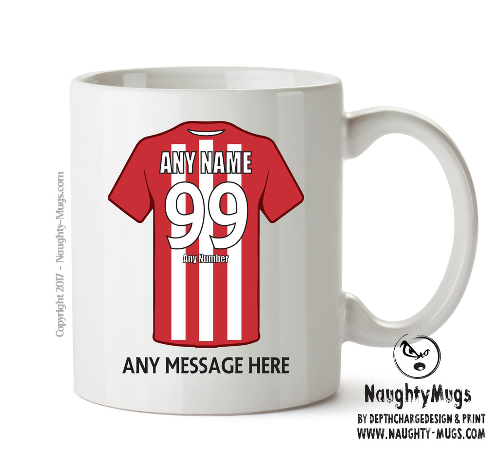Altrincham INSPIRED Football Team Mug Personalised Birthday Age And Name