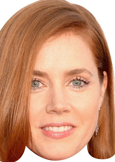 Amy Adams Celebrity Face Mask FANCY DRESS HEN BIRTHDAY PARTY FUN STAG DO HEN