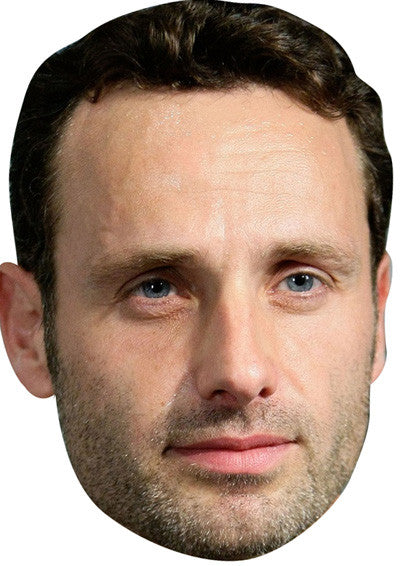 Andrew Lincoln Walking Dead 2018 Celebrity Face Mask FANCY DRESS HEN BIRTHDAY PARTY FUN STAG DO HEN