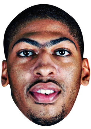 ANTHONY DAVIS JB - Basketball Star Fancy Dress Cardboard Celebrity Party Stag Birthday Idea Fancy Dress Face mask