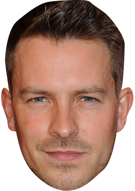 ASHLEY TAYLOR DAWSON JB - Hollyoaks Fancy Dress Cardboard Celebrity Party mask