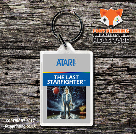 Atari 5200 Last Starfighter - Game Inspired Retro Gaming Keyring