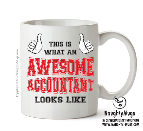 Awesome Accountant Office Mug FUNNY Gift Office Mug Funny Humour