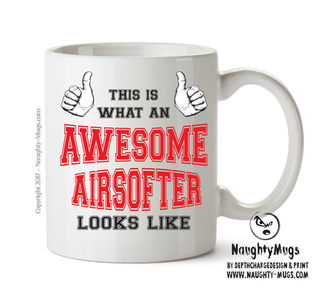 Awesome Airsofter Office Mug FUNNY Gift Office Mug Funny Humour