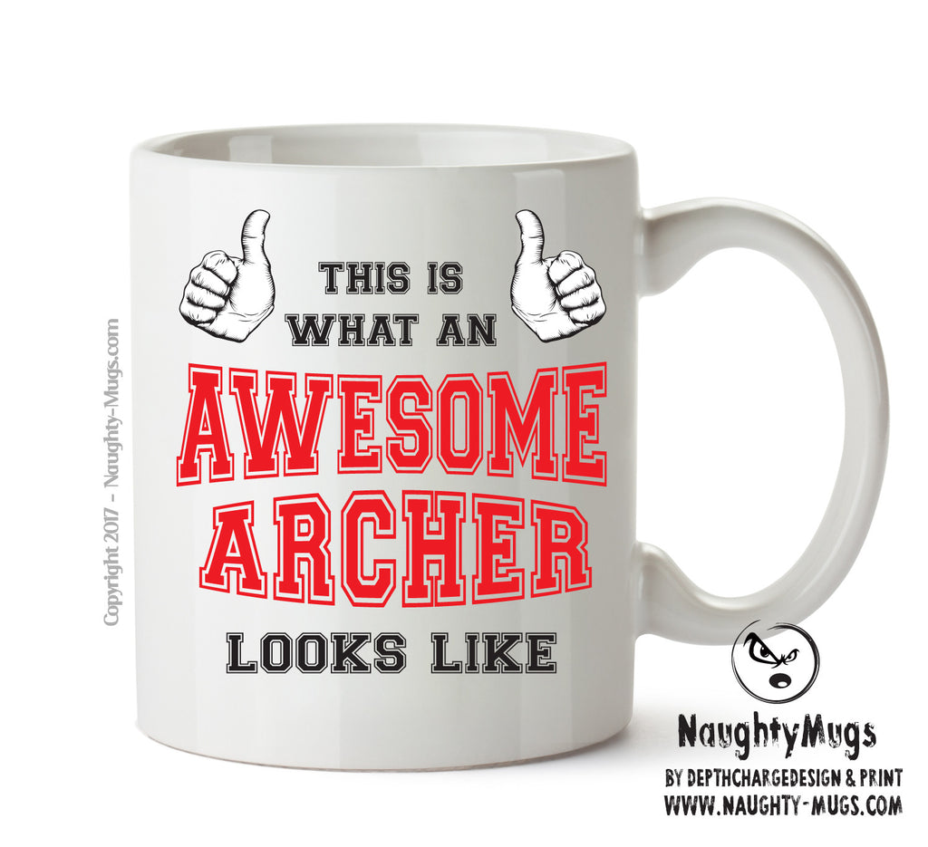 Awesome Archer Office Mug FUNNY Gift Office Mug Funny Humour