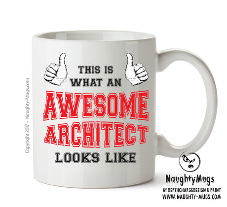 Awesome Architect Office Mug FUNNY Gift Office Mug Funny Humour