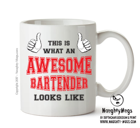 Awesome Bartender Office Mug FUNNY Gift Office Mug Funny Humour