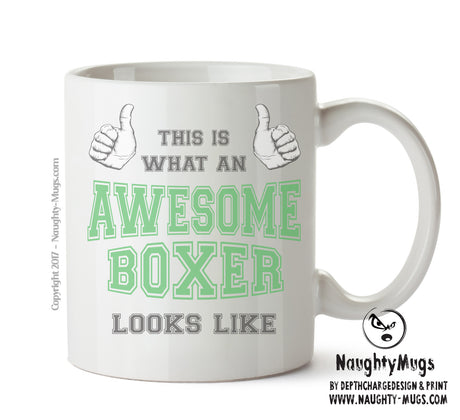 Awesome Boxer Office Mug FUNNY Gift Office Mug Funny Humour