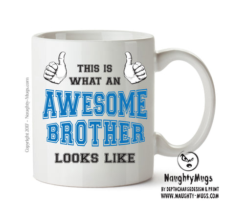 Awesome Brother Office Mug FUNNY Gift Office Mug Funny Humour