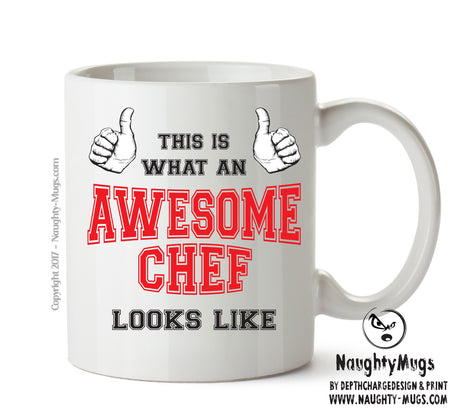 Awesome Chef Office Mug FUNNY Gift Office Mug Funny Humour