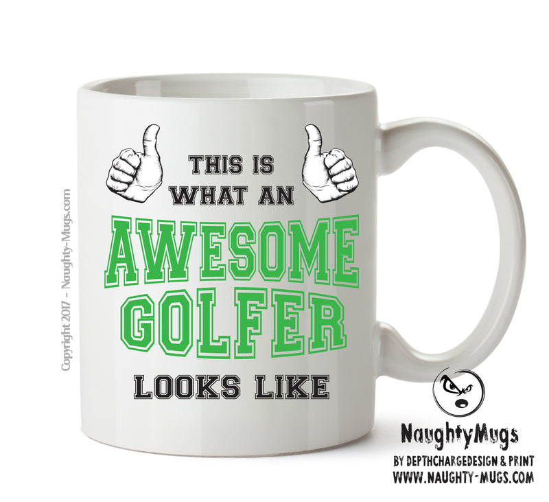 Awesome Golfer Office Mug FUNNY Gift Office Mug Funny Humour