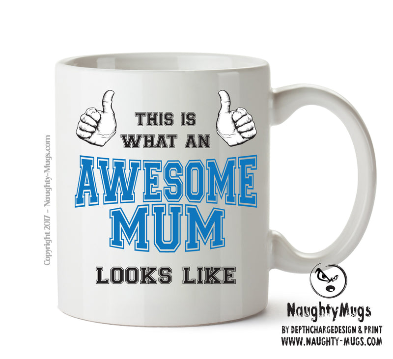Awesome Mum Office Mug FUNNY Gift Office Mug Funny Humour