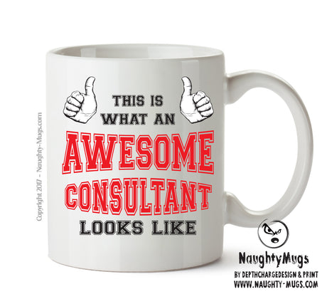 Awesome Consultant Office Mug FUNNY Gift Office Mug Funny Humour