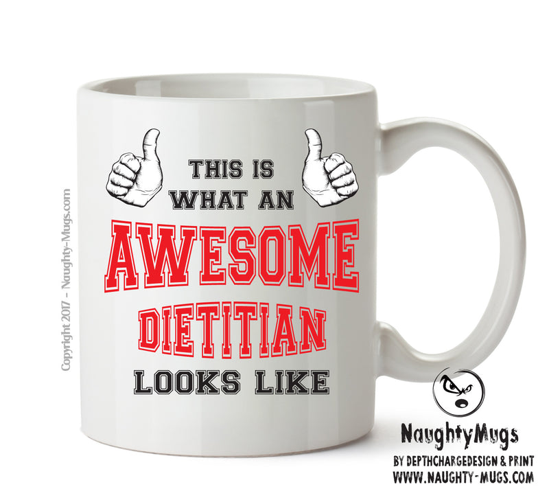 Awesome Dietitian Office Mug FUNNY Gift Office Mug Funny Humour
