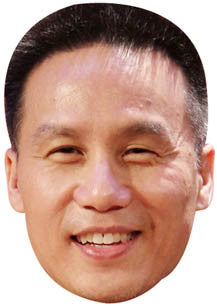BD Wong SNOOKER Celebrity Face Mask FANCY DRESS HEN BIRTHDAY PARTY FUN STAG DO HEN